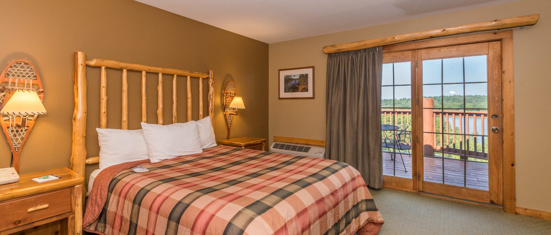 Two-Room Suite With Deck & Sofa Sleeper at Grand Ely Lodge