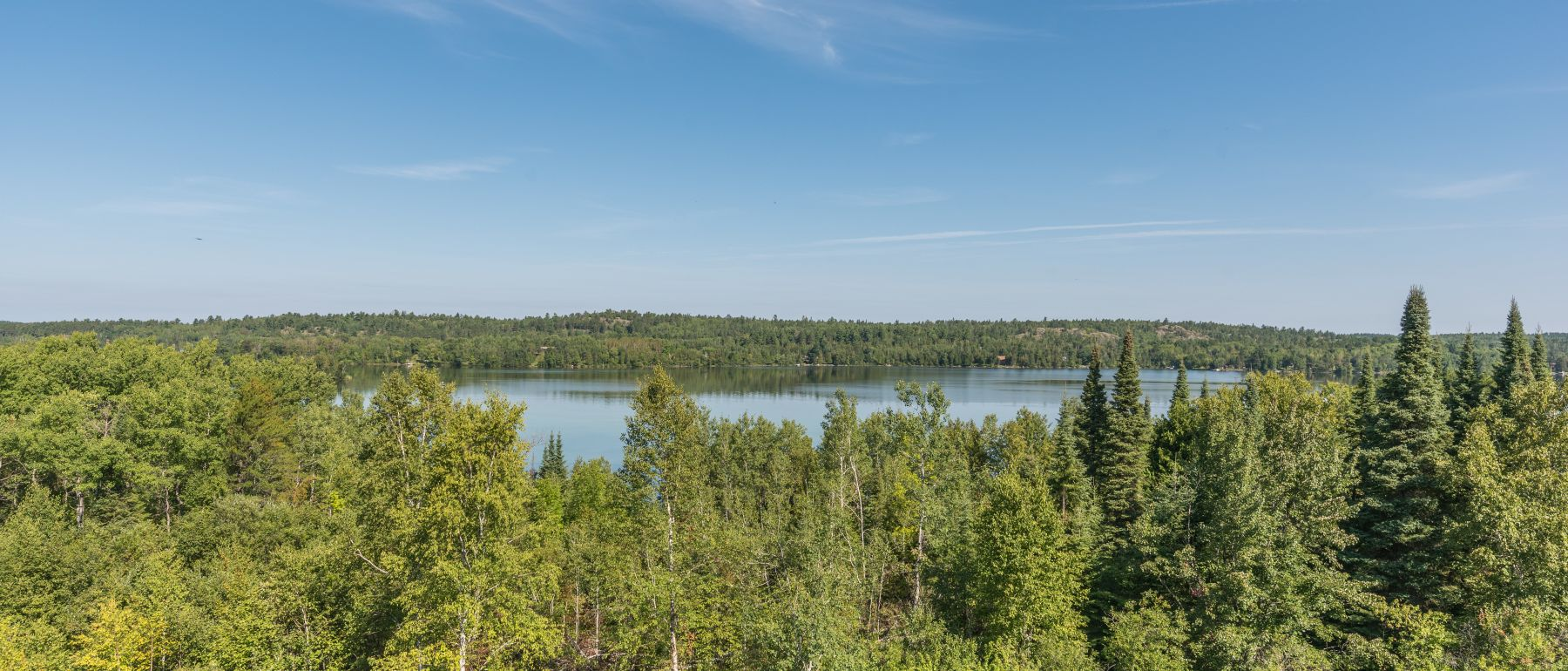 View of the Woods and Shagawa Lake From Grand Ely Lodge