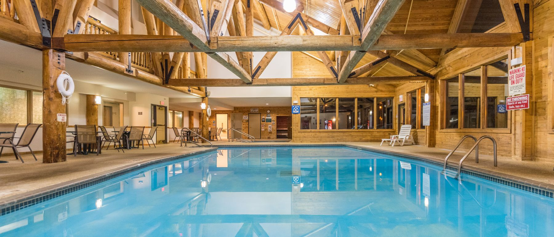 Indoor Pool at Grand Ely Lodge